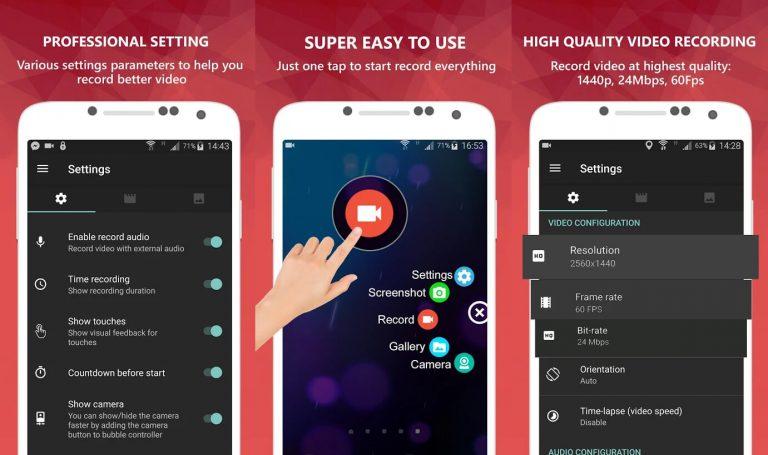 5+ Aplikasi Perekam Layar Terbaik