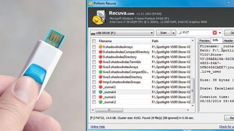 Cara Mengembalikan File Yang Terhapus di Flashdisk dengan mudah