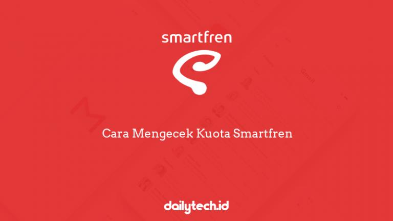 Cara Mengecek Kuota Smartfren